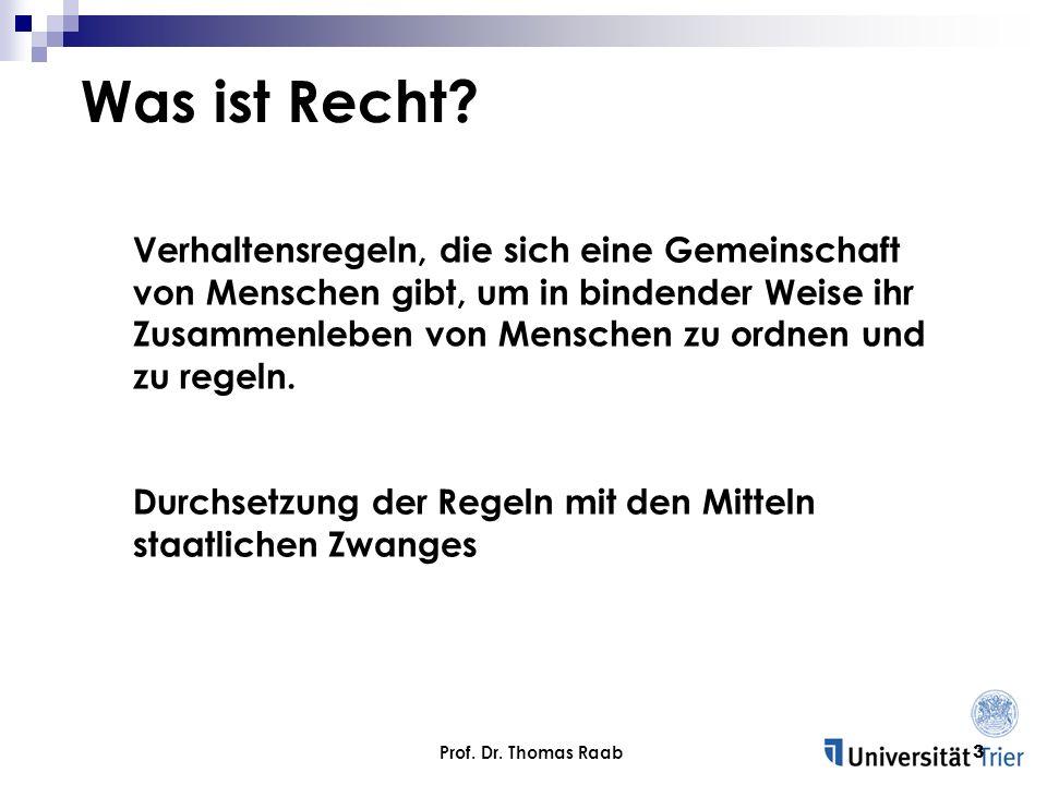 Prof.Dr. Thomas Raab14 Krankheit als Mangel.
