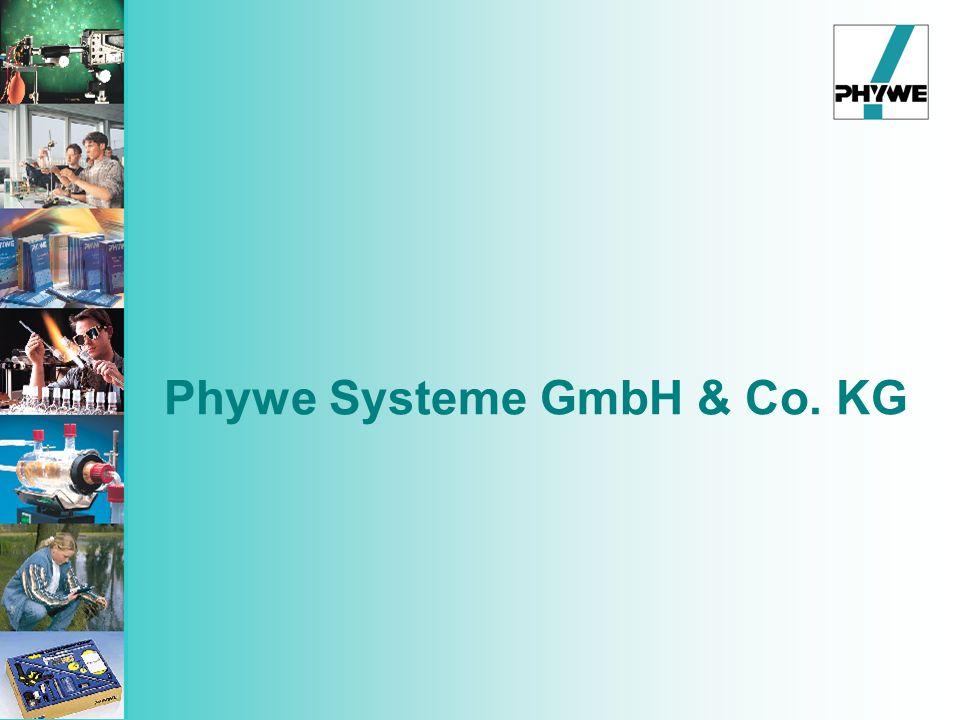 PHYWE SYSTEME GMBH & Co.KG gegründet 1913 c a.