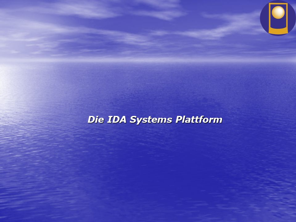 Die IDA Systems Plattform