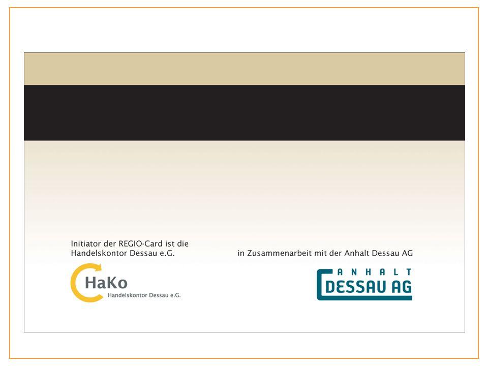 Funktionsweise Regionales Rabattmarkenheft Ausweis, gegen den Rabatt gewährt wird Der Preis bleibt der gleiche Wie beim Rabattmarkenheft erhält der Kunde später eine Rückvergütung.