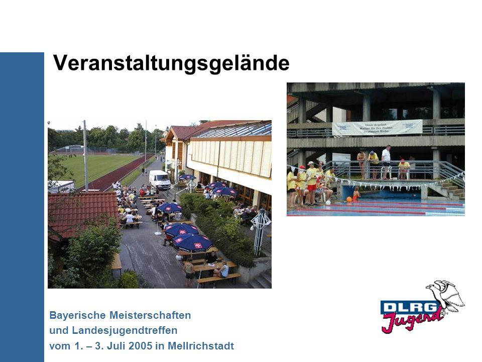 Veranstaltungsgelände Bayerische Meisterschaften und Landesjugendtreffen vom 1. – 3. Juli 2005 in Mellrichstadt