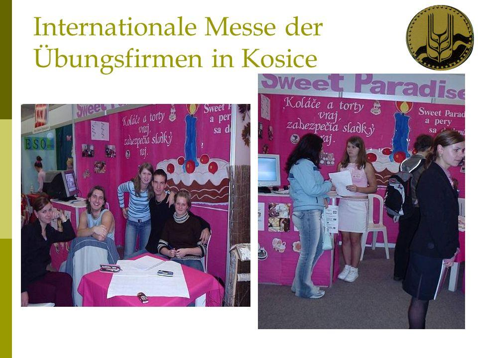 Internationale Messe der Übungsfirmen in Kosice