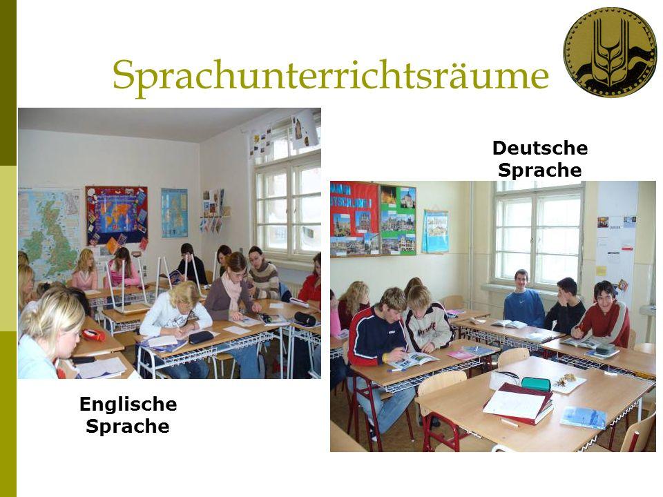 Sprachunterrichtsräume Englische Sprache Deutsche Sprache