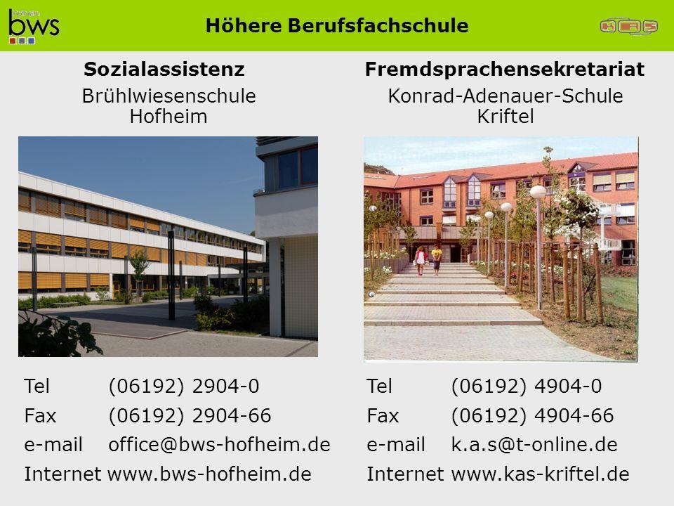 Tel(06192) 2904-0 Fax(06192) 2904-66 e-mailoffice@bws-hofheim.de Internet www.bws-hofheim.de Tel(06192) 4904-0 Fax(06192) 4904-66 e-mailk.a.s@t-online