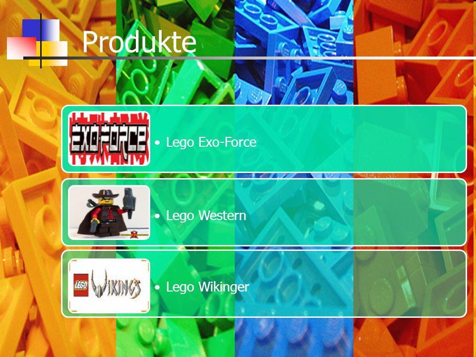 Lego Exo-Force Lego Western Lego Wikinger Produkte