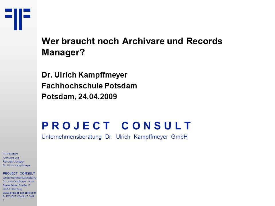 2 FH-Potsdam Archivare und Records Manager Dr.