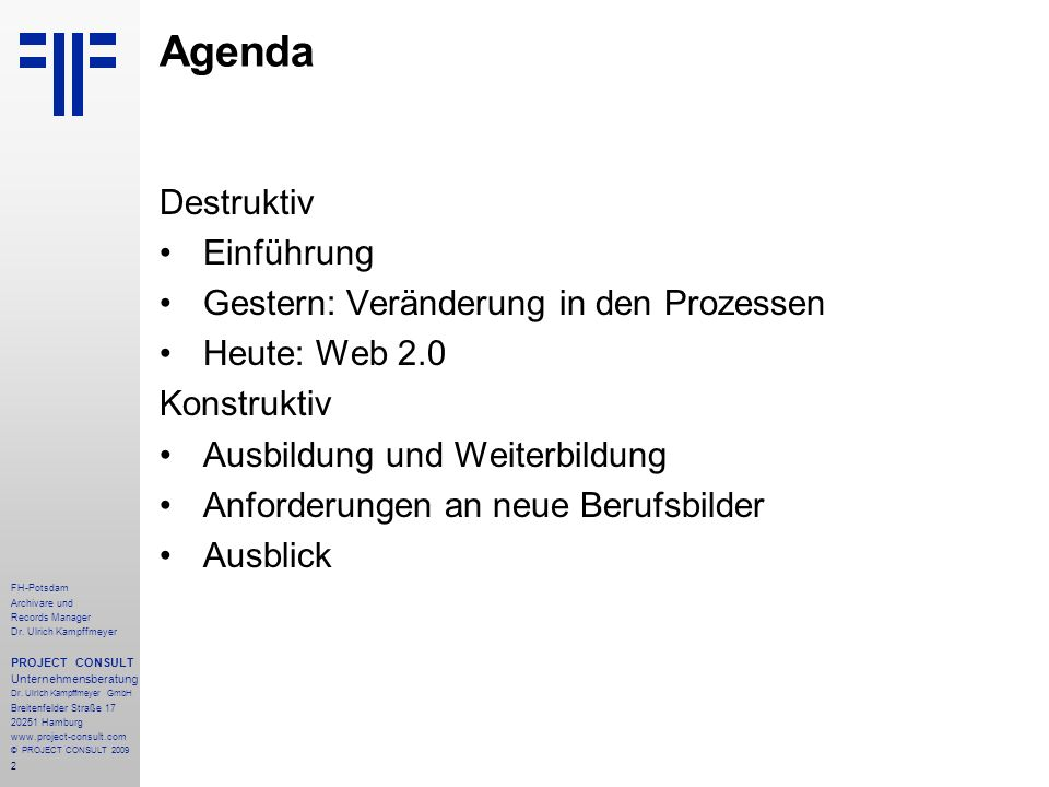 13 FH-Potsdam Archivare und Records Manager Dr.