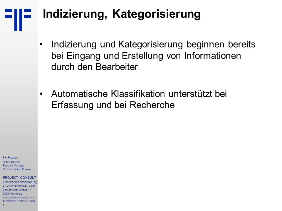 9 FH-Potsdam Archivare und Records Manager Dr.