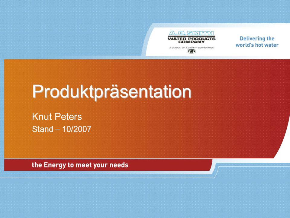 Produktpräsentation Knut Peters Stand – 10/2007