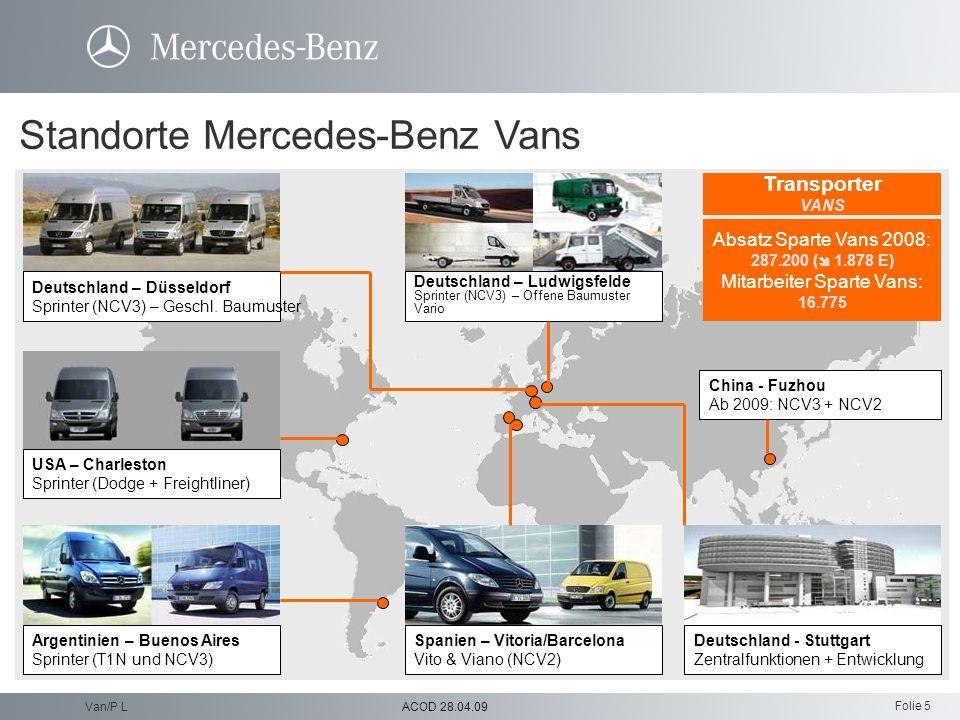 Folie 5 ACOD 28.04.09Van/P L Transporter, Busse, Andere Van, Bus, Others Nutzfahrzeuge Daimler Trucks Finanzdienstleistungen Financial Services MBC Me
