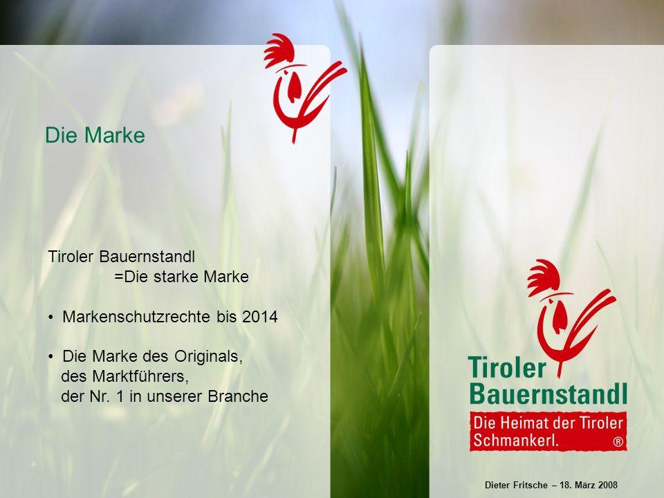 Tirolaffine Genießer Bio-Kunden Zielgruppe 50+ Hochfrequentierte Einkaufscenter Kleine, grüne Wochenmärkte Kunden und Standorte Dieter Fritsche – 18.