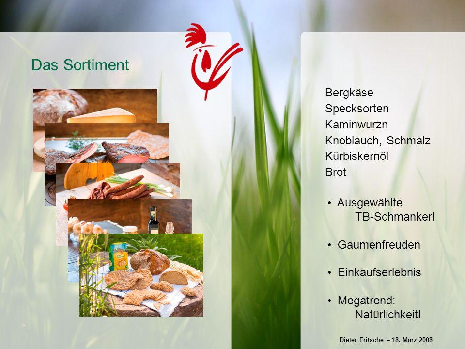 Gründung: 1986 in Kitzbühel von Wolfgang Obermüller Franchising seit 1993, 1994 erster Partner in Österreich Anzahl der Partner: 85 TB-Zentrale: 3 Mitarbeiter, 13 Masterpartner Das Unternehmen Dieter Fritsche – 18.