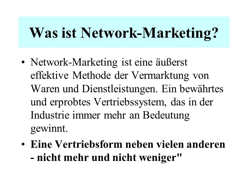 Network-Marketing? Ist das nicht kriminell?