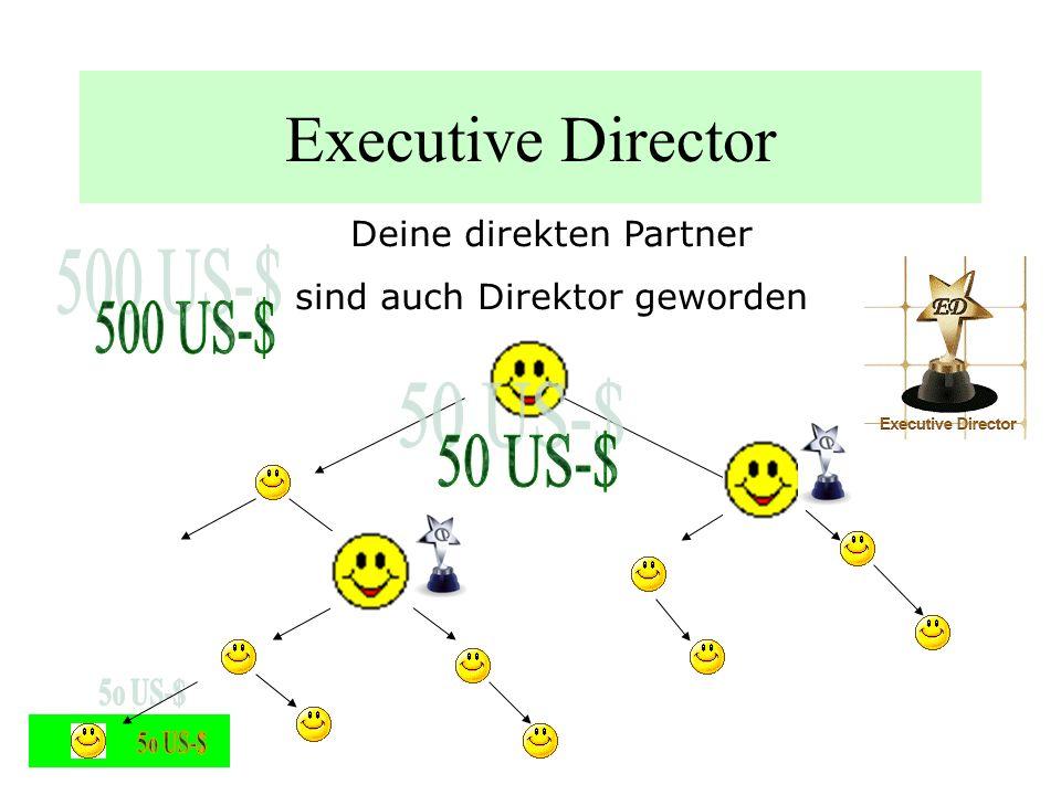 Executive Director Deine direkten Partner Wollen auch Direktor werden