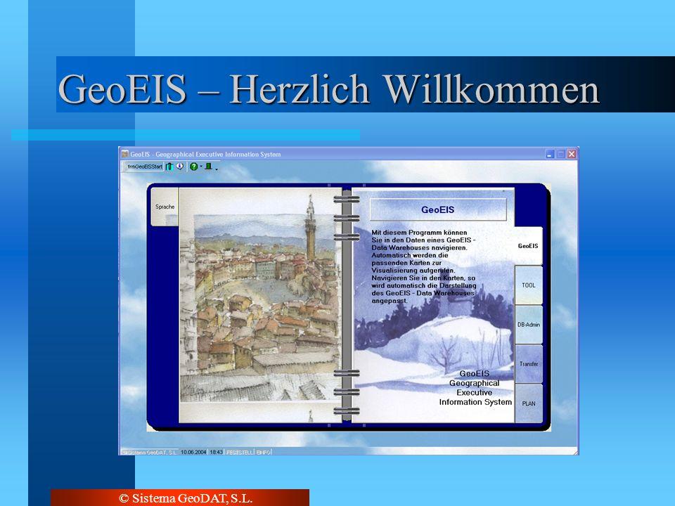 © Sistema GeoDAT, S.L. GeoEIS – Herzlich Willkommen