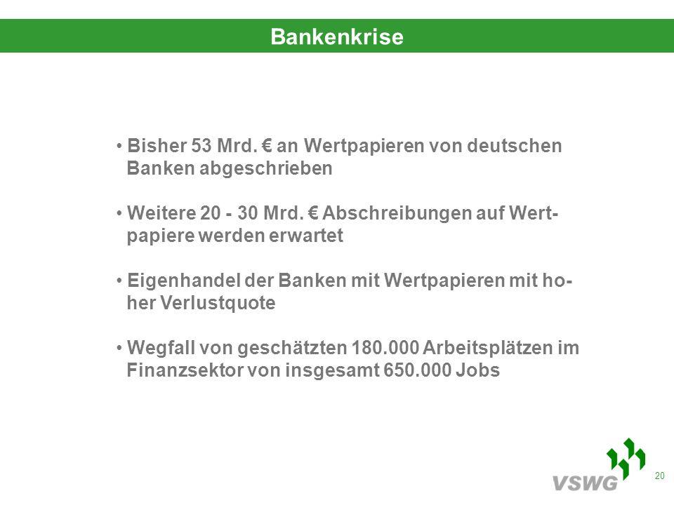 20 Bankenkrise Bisher 53 Mrd.