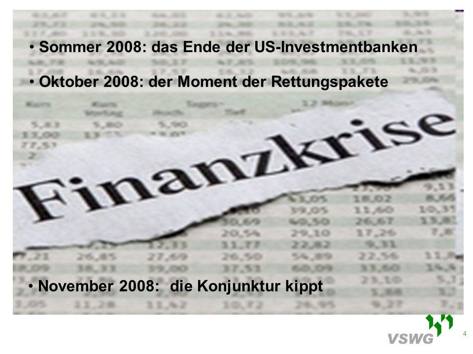 35 Lageberichterstattung Regelfall: keine akuten Risiken in der Finanzierung Ausnahmen: Unternehmen, die sich die Finanzierung von Investitionen für 2009 bzw.