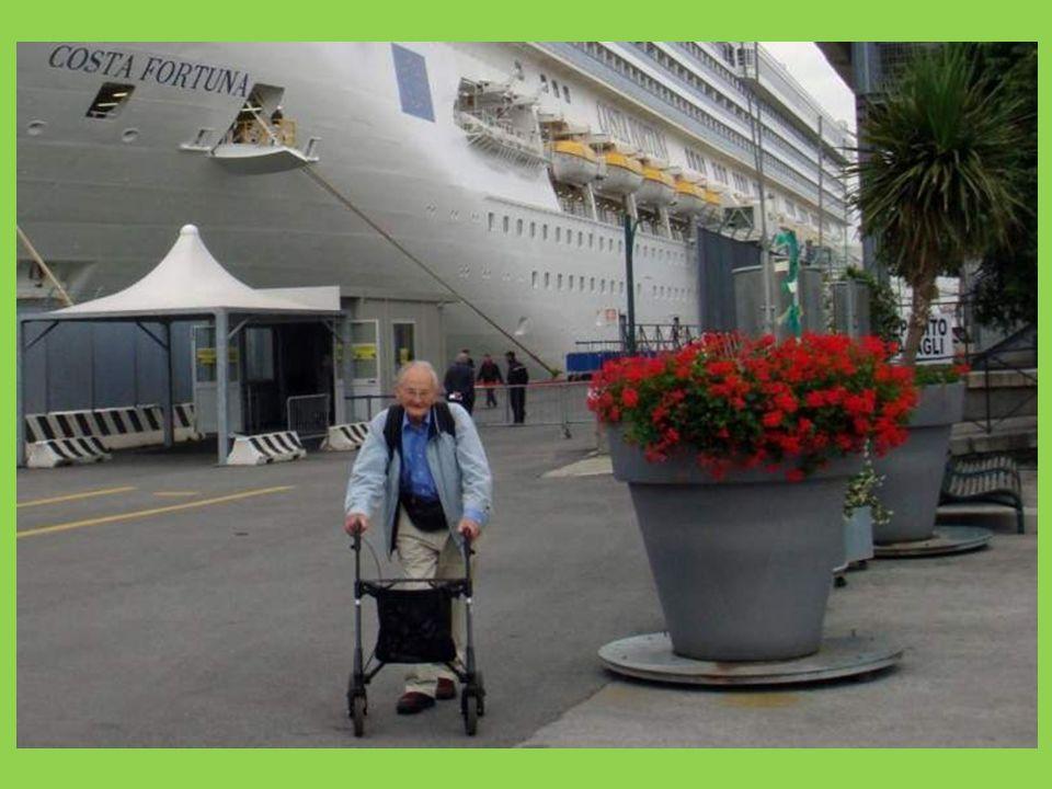 Das Abenteuer beginnt! Einschiffung in Venedig