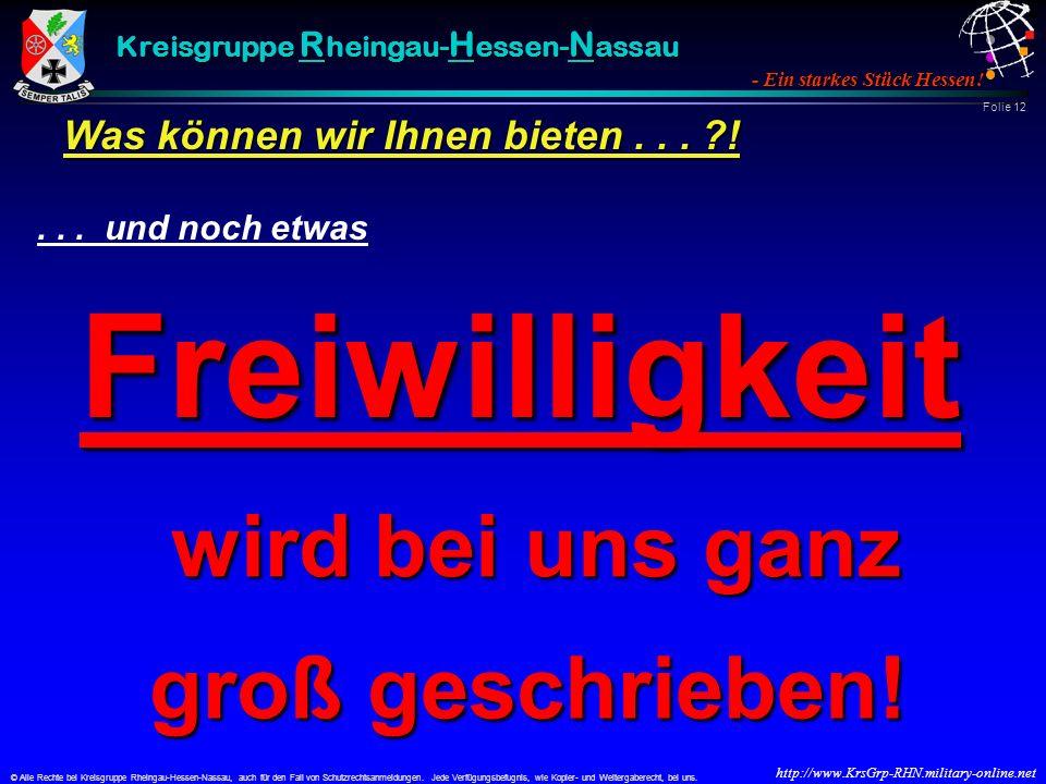 © Alle Rechte bei Kreisgruppe Rheingau-Hessen-Nassau, auch für den Fall von Schutzrechtsanmeldungen.