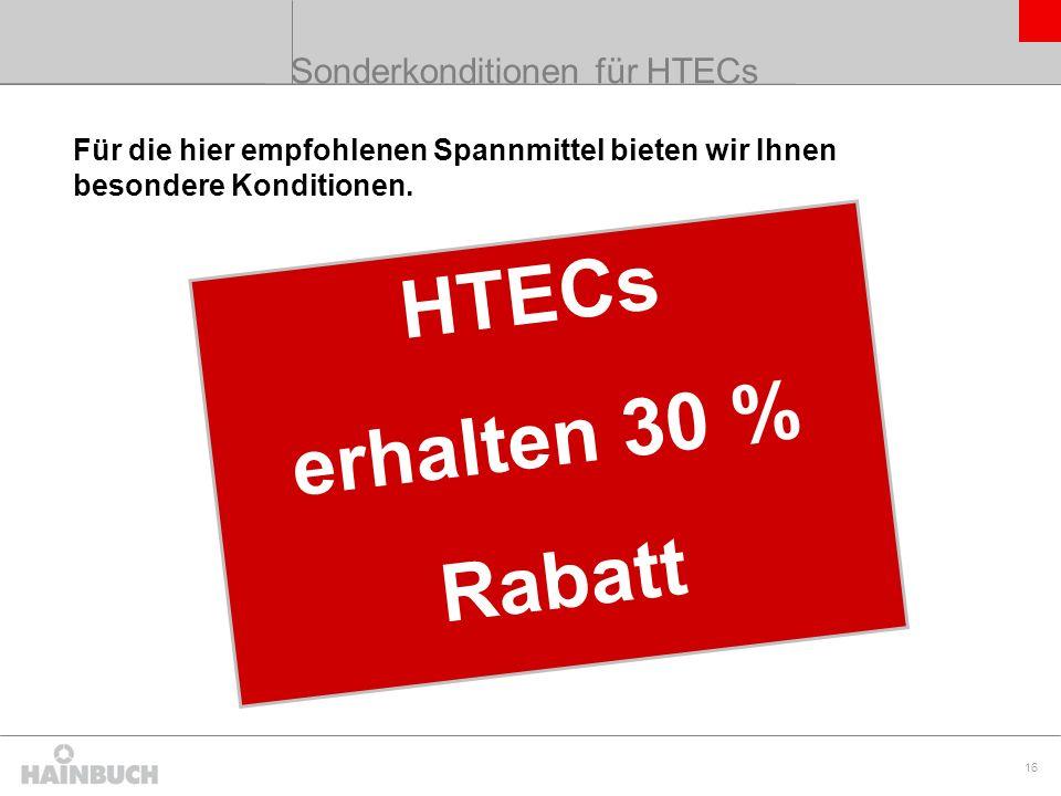 17 www.hainbuch.com Können wir Ihnen als HTEC Partner weiterhelfen?