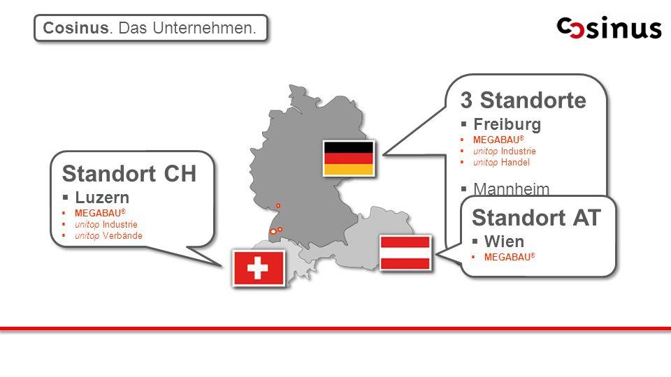3 Standorte Freiburg MEGABAU ® unitop Industrie unitop Handel Mannheim unitop Handel SITE Villingen- Schwenningen 3 Standorte Freiburg MEGABAU ® unito