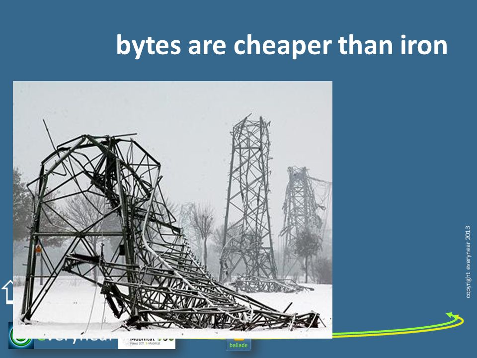 copyright everynear 2013 bytes are cheaper than iron