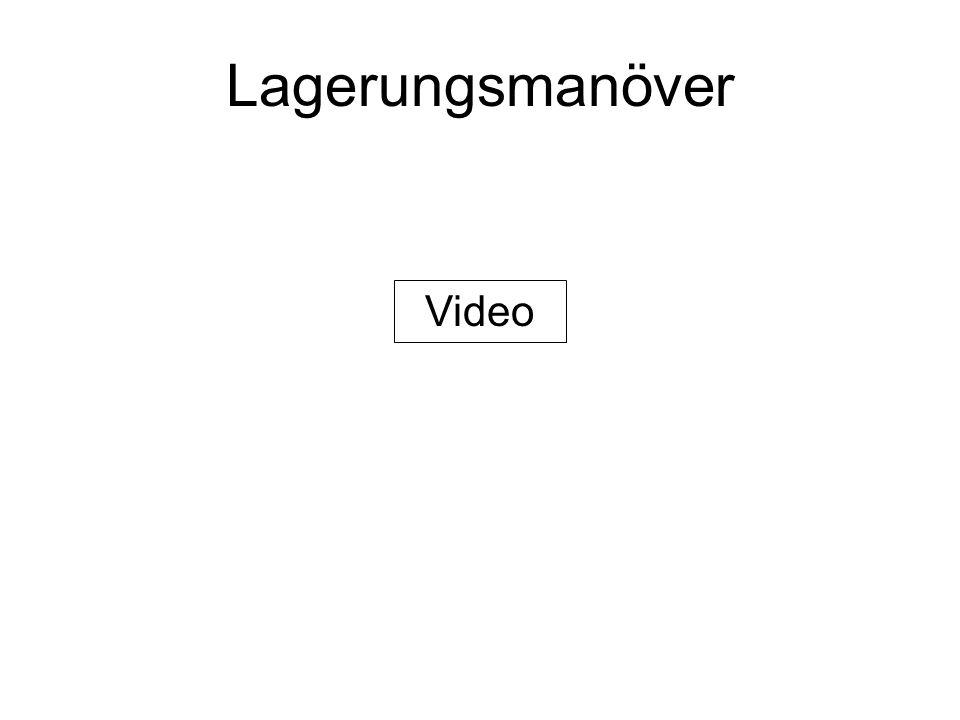 Lagerungsmanöver Video
