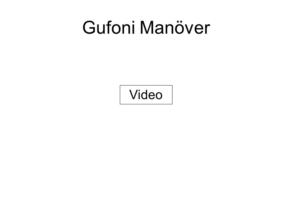 Gufoni Manöver Video