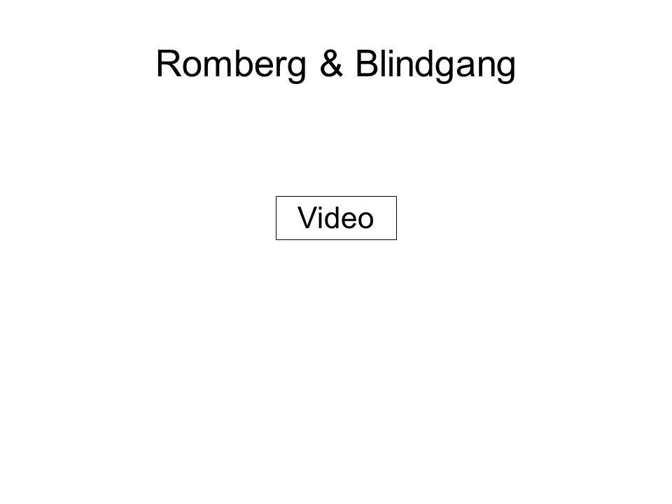 Romberg & Blindgang Video