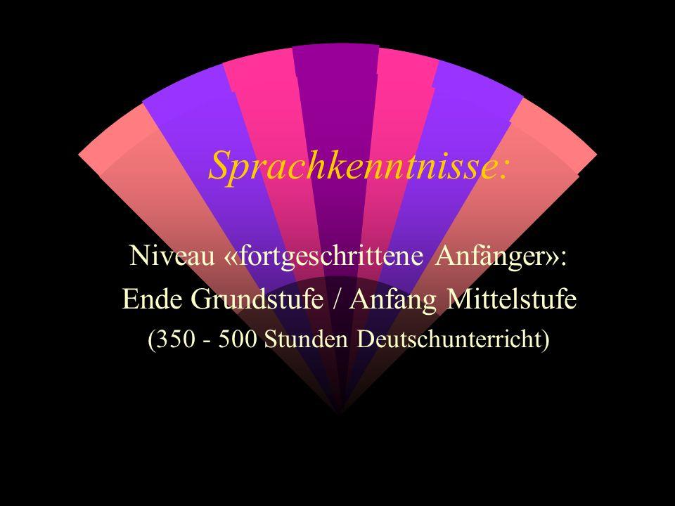 1. Der Video-Sprachkurs