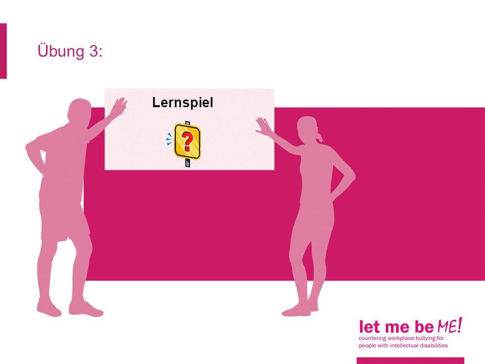 Übung 3: Lernspiel