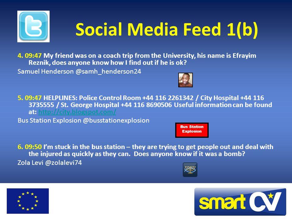 Social Media Feed 1(b) 4.