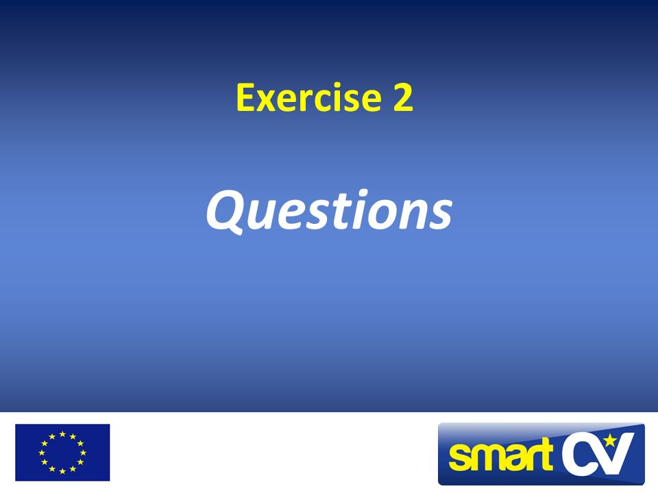 Exercise 2 Questions