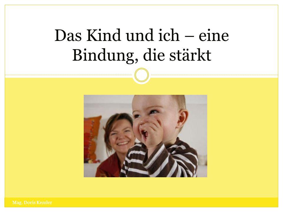 PÄDAGOGISCHE WERKTAGUNG 13. – 15. JULI 2010 SALZBURG Das Kind und ich – eine Bindung, die stärkt Mag. Doris Kessler