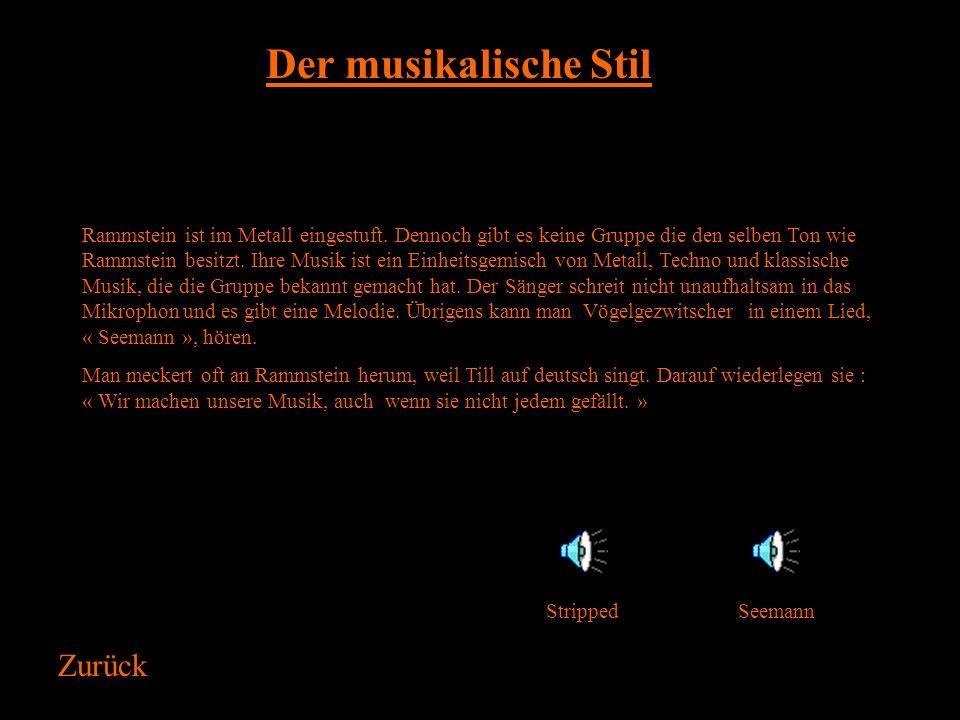 Die Geschichte von Rammstein fängt am 28. August 1988 an. An diesem Tag, gab es eine Katastrophe, drei italienisch Flugzeug krachten zusammen während