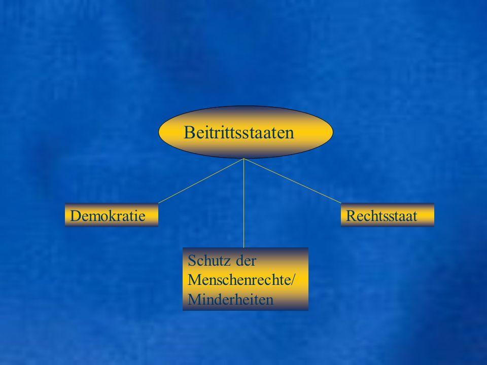 Kopenhagener Kriterien: Wirtschaftl.