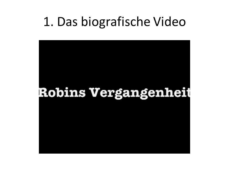 1. Das biografische Video