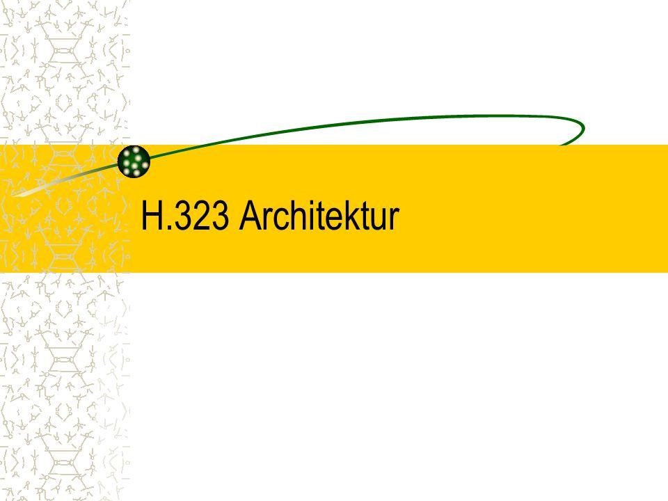 H.323 Architektur