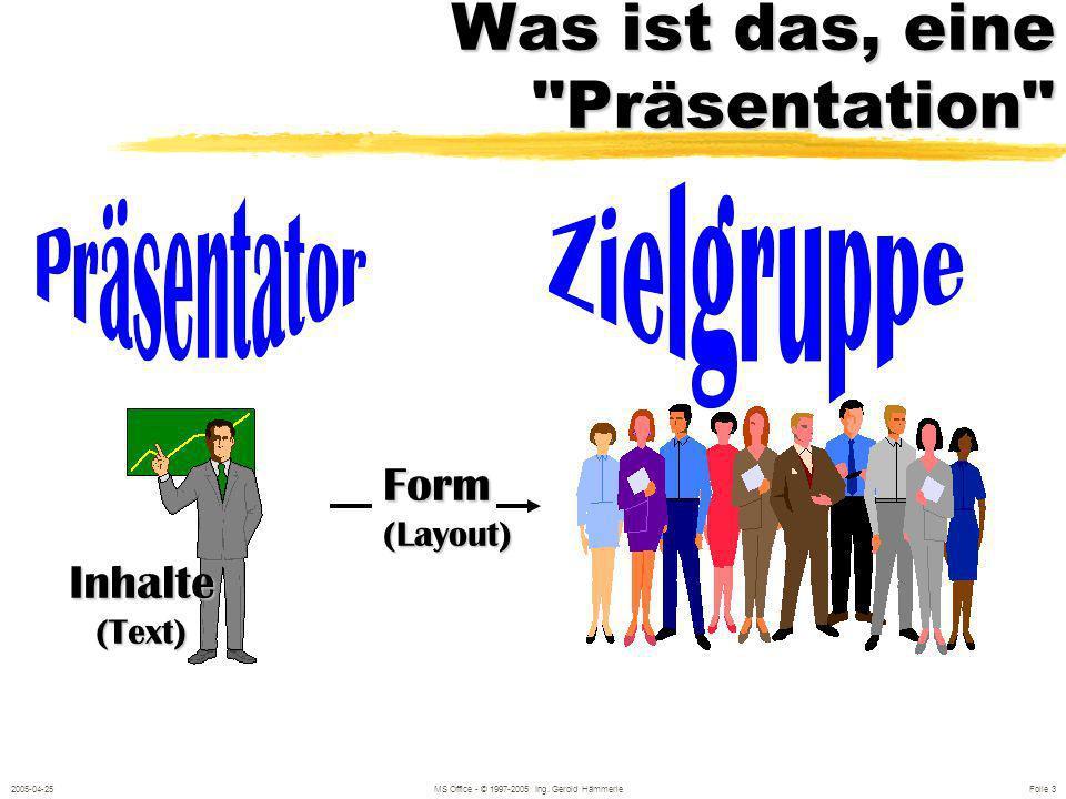 2005-04-25MS Office - © 1997-2005 Ing.