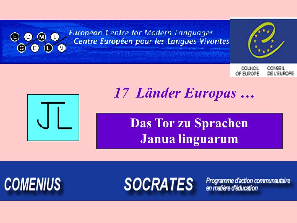 Das Tor zu Sprachen Janua linguarum 17 Länder Europas …