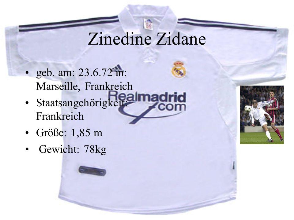 Zinedine Zidane geb.