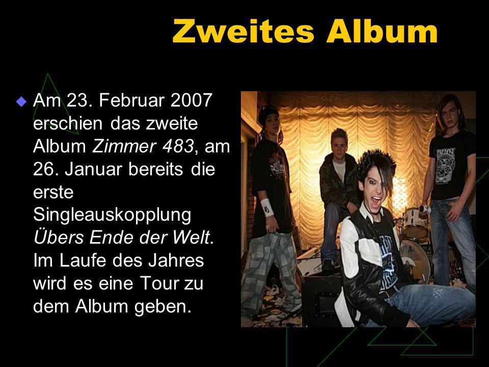 Erfolge im Ausland In Frankreich wurde im Herbst 2006 das Debütalbum veröffentlicht.
