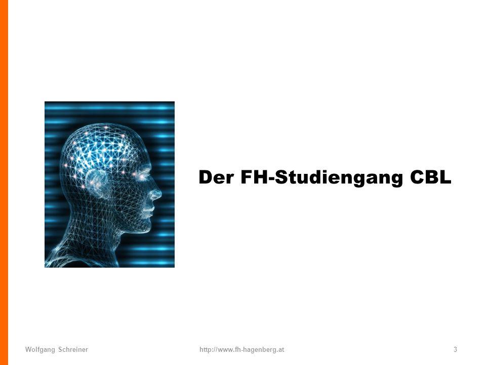 Wolfgang Schreinerhttp://www.fh-hagenberg.at4 Computer-basiertes Lernen n FH Studiengang in Hagenberg n Seit 2001, 18 Studienplätze pro Jahrgang.