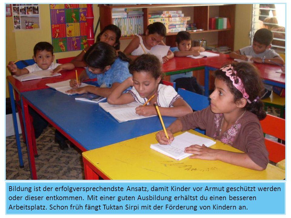 Bildung ist der erfolgversprechendste Ansatz, damit Kinder vor Armut geschützt werden oder dieser entkommen. Mit einer guten Ausbildung erhältst du ei
