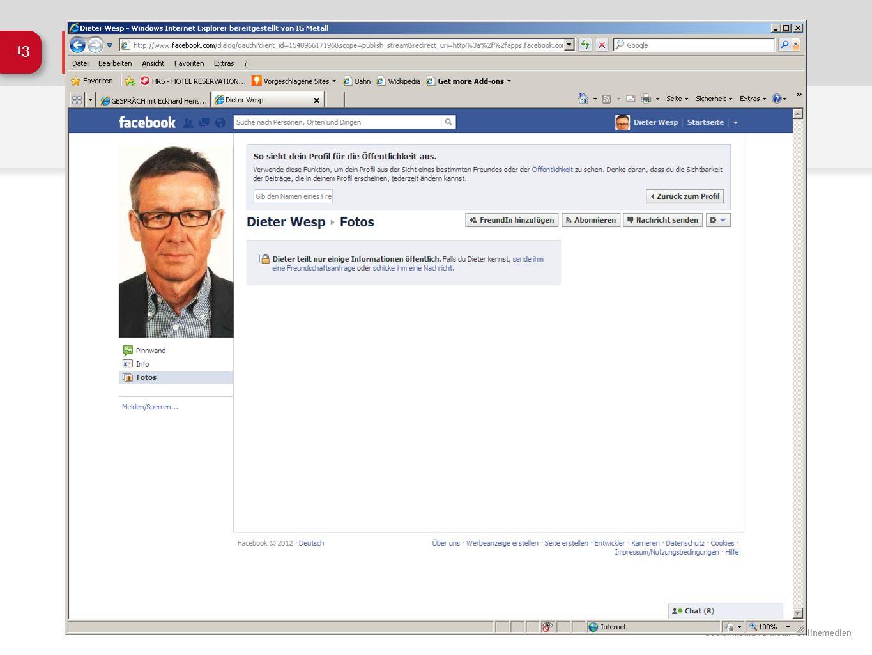 Social Media IG Metall Onlinemedien 13