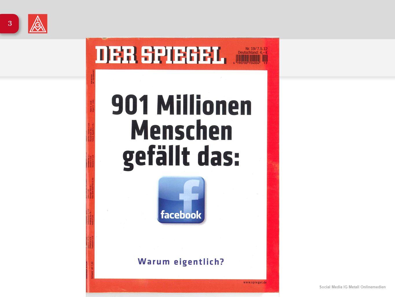 Social Media IG Metall Onlinemedien 3