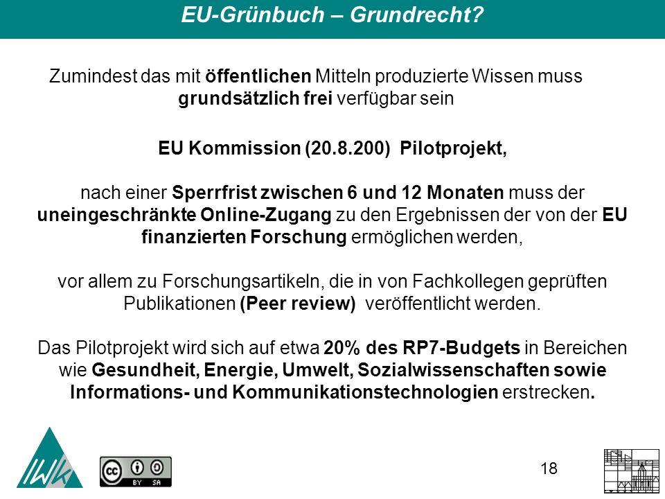 18 EU-Grünbuch – Grundrecht.