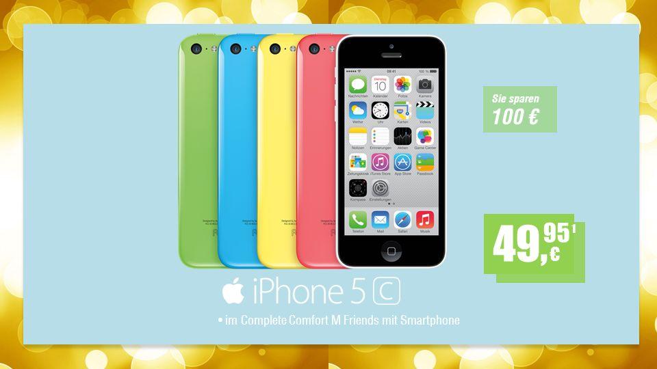 im Complete Comfort M Friends mit Smartphone 1 49, 95 Sie sparen 100