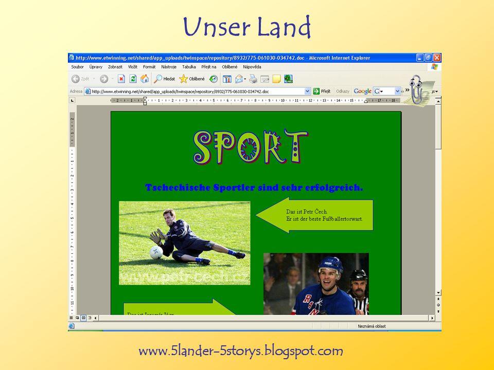 www.5lander-5storys.blogspot.com Unser Land