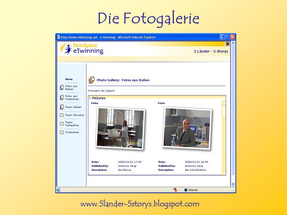 www.5lander-5storys.blogspot.com Die Fotogalerie